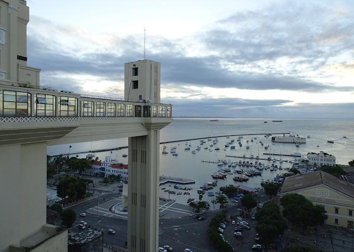 View of All Saints Bay, Salvador