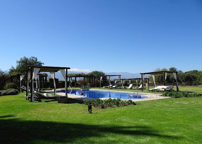 The grounds of Patios de Cafayate