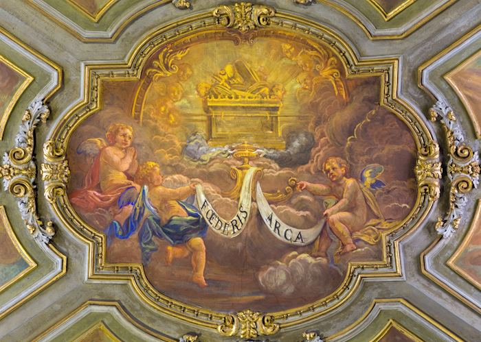 Ceiling frescos, San Francesco Church