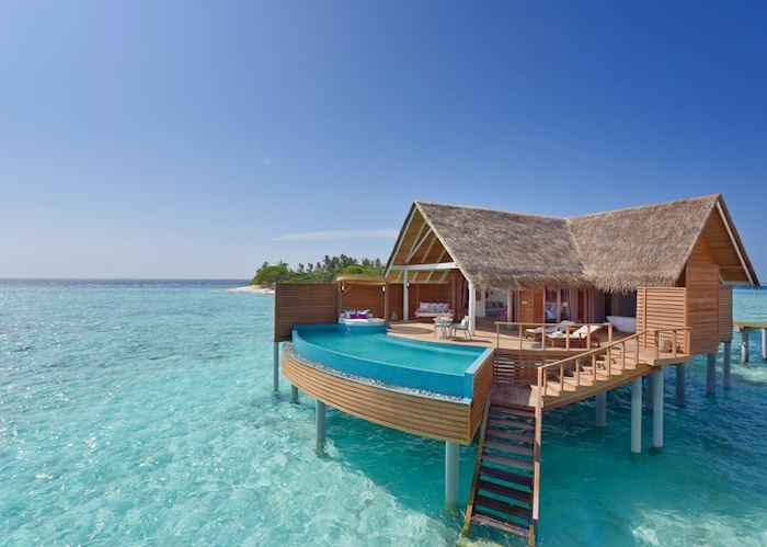 Water pool villa, Milaidhoo Island Maldives, Maldive Island
