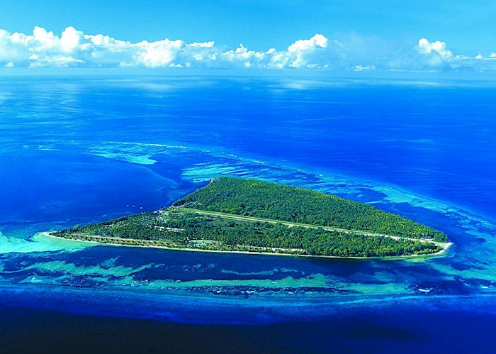 Aerial View, Alphonse Island Resort, Alphonse Island