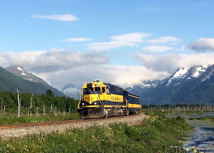 Alaska Railroad, near Anchorage