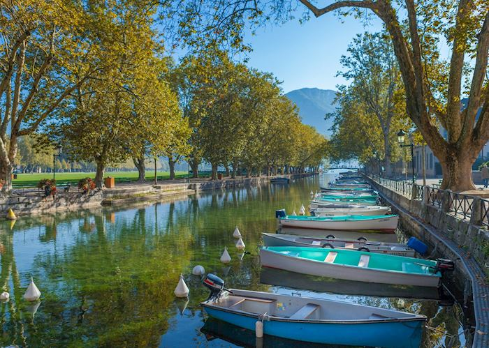 Canals of Annecy, France