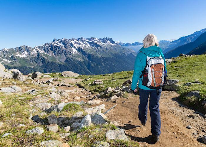 Hiking in Chamonix, France