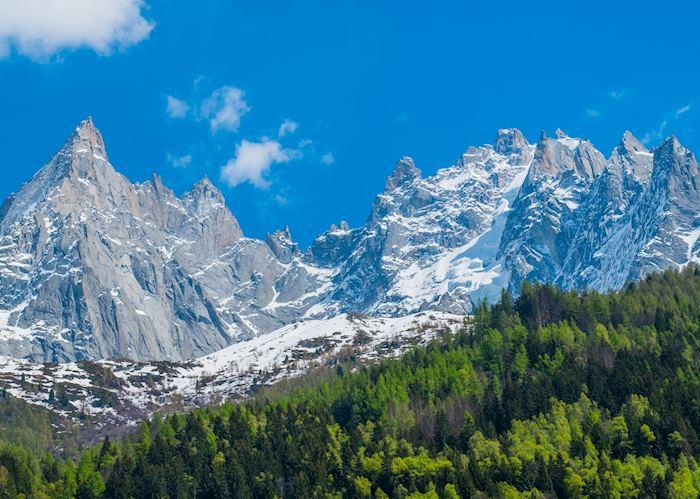 Alpine vistas, Chamonix