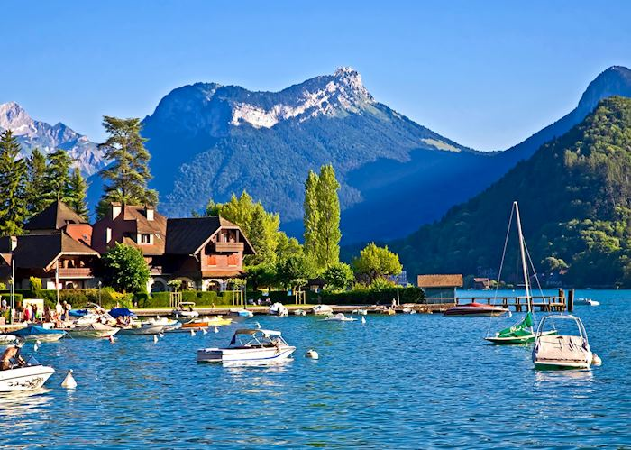 Views from the lake, Annecy