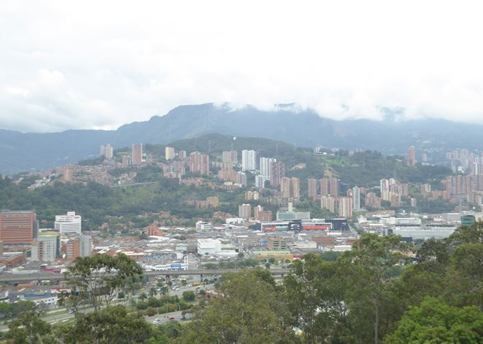 View of Medellín