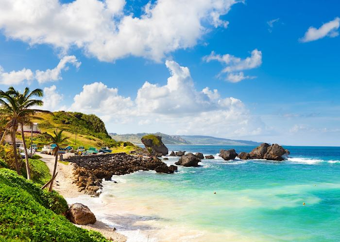 Bathsheba coastline, Barbados