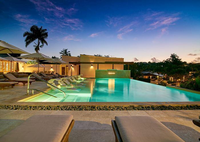 Main pool, Calabash, Grenada