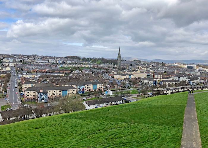 View overlooking Derry/Londonderry city