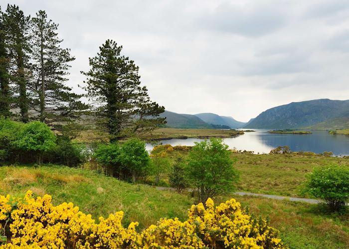 Landscape of Glenveagh National Park