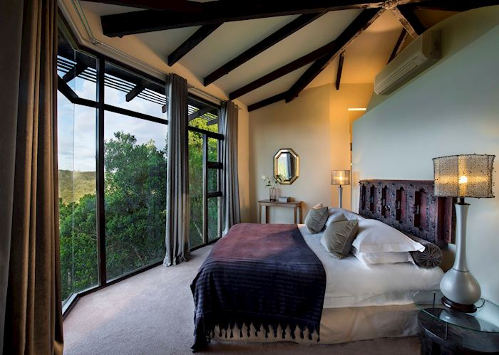 Villa Bedroom Area, Tsala Treetop Lodge, Plettenberg Bay