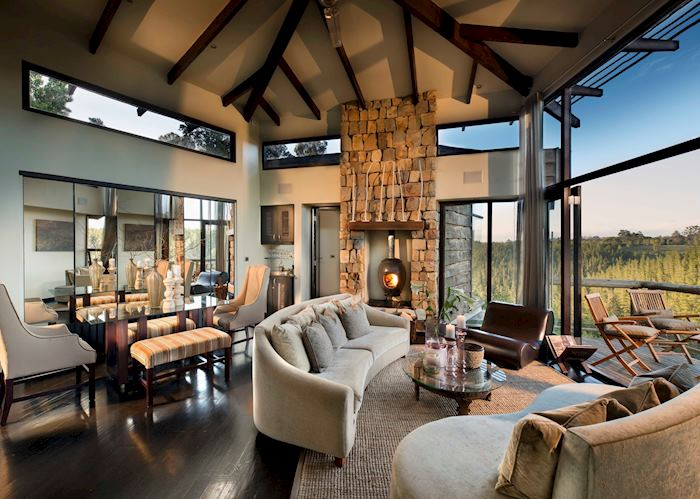 Villa Lounge Area, Tsala Treetop Lodge, Plettenberg Bay