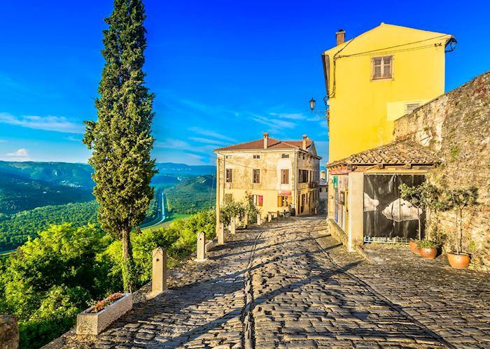 Hilltop village, Istria