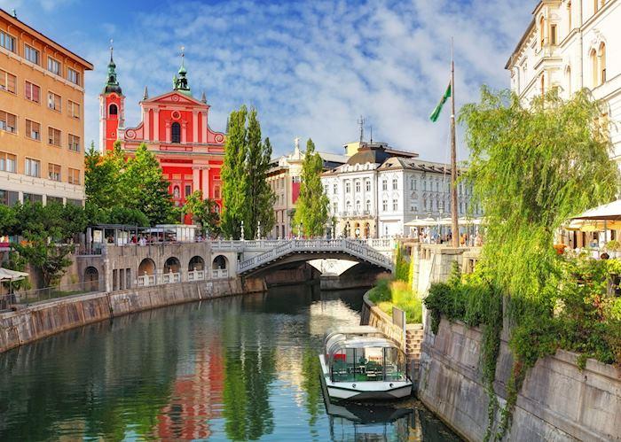 Ljubljana River, Ljubljana