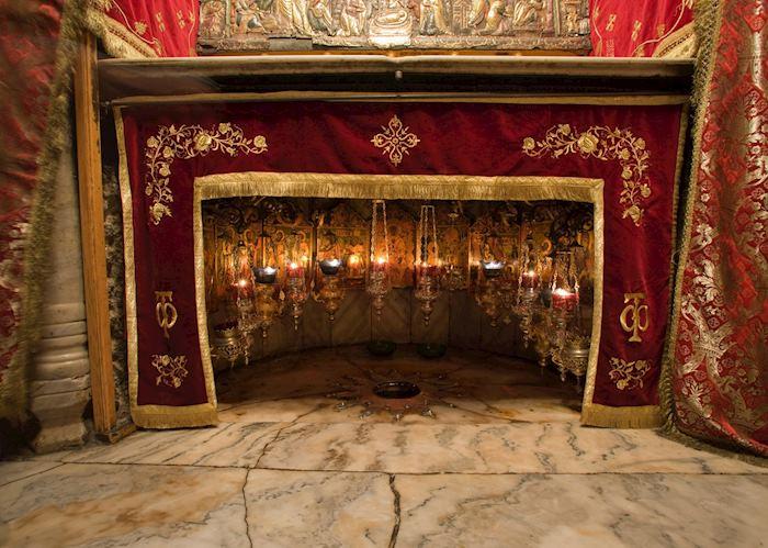 Believed birth place of Jesus, Bethlehem