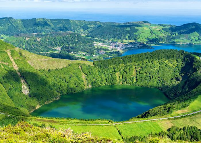 Twin lakes, Sete Cidades, São Miguel