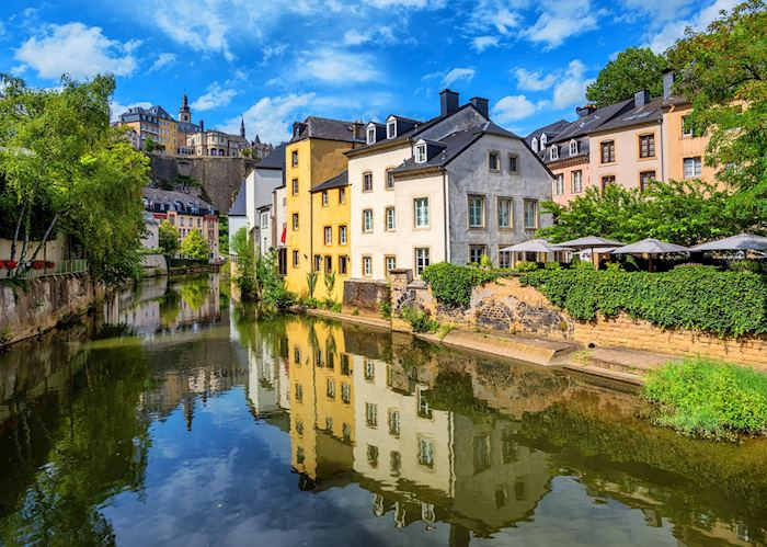 River views in Luxembourg City