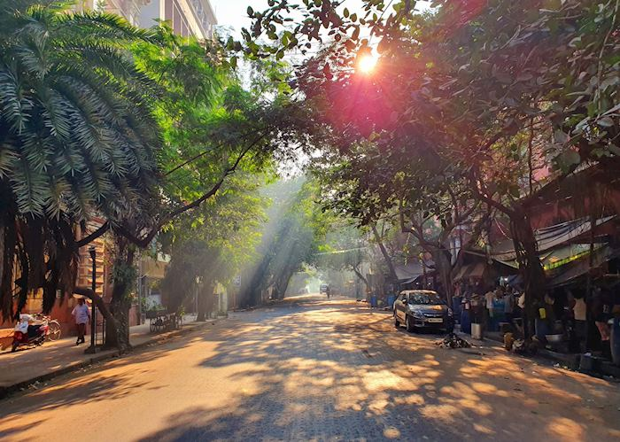 Early morning off Strand Road, Calcutta