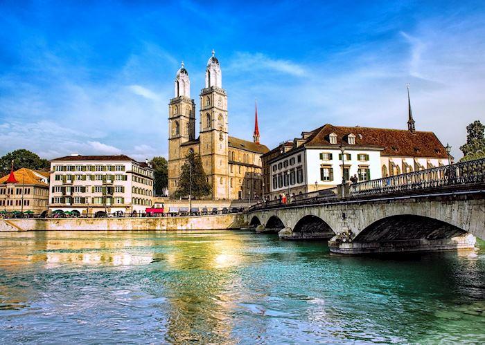 Limmat River, Zürich