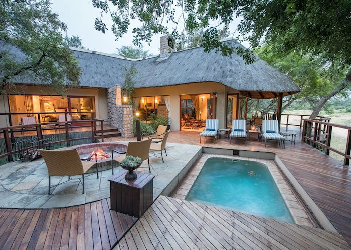 Presidential suite, Shumbalala Game Lodge, Thornybush Private Game Reserve