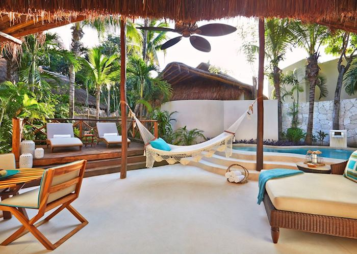 Signature Villa Terrace, Viceroy Riviera Maya