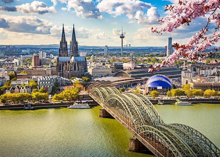 Springtime in Cologne