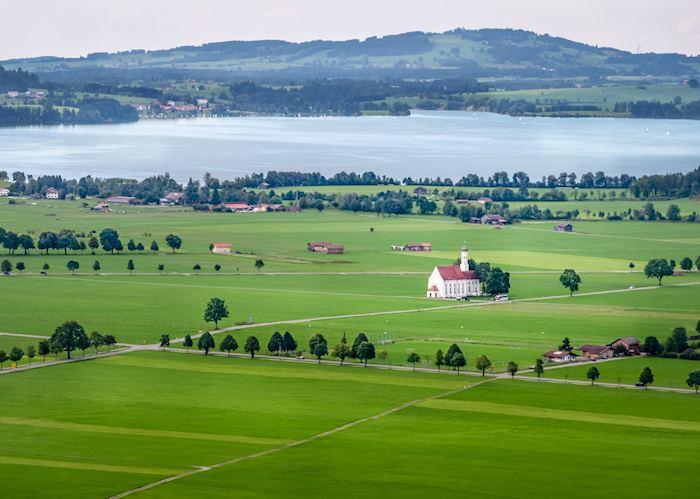Countryside around Neuschwanstein Castle