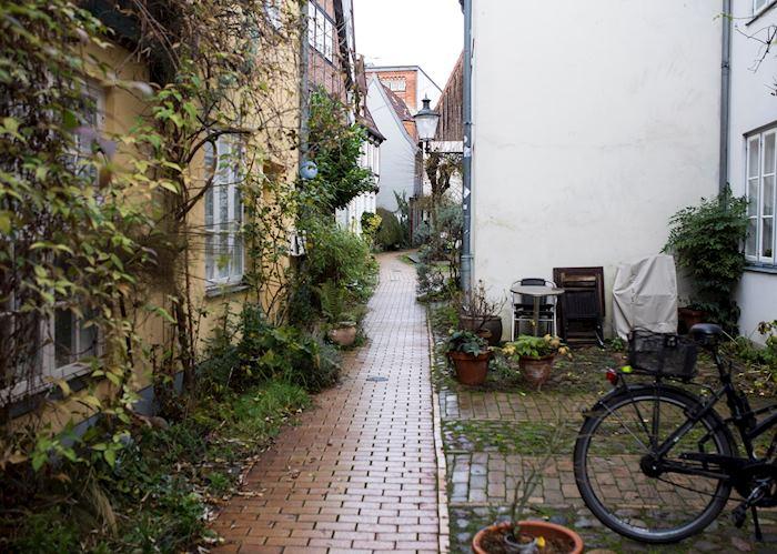 Lubeck hidden corridor