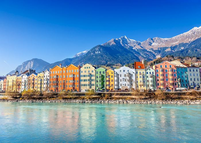 Innsbruck's cityscape
