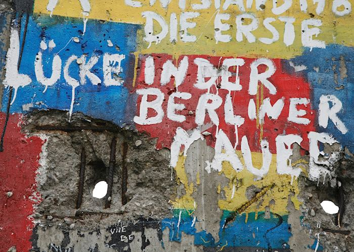 The first gap of the Berlin wall