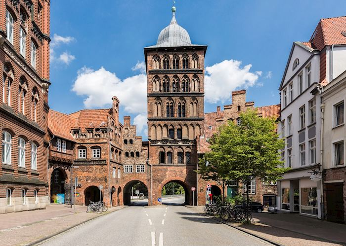 Burgtor gate tower, Lubeck