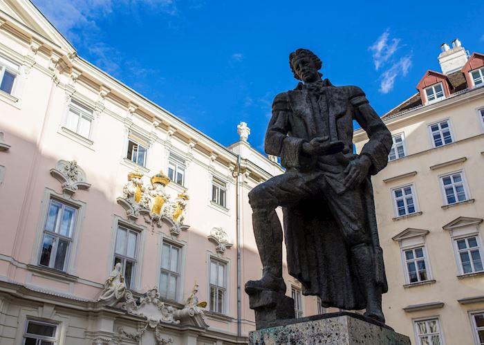 Gotthold Ephraim Lessing statue, Vienna