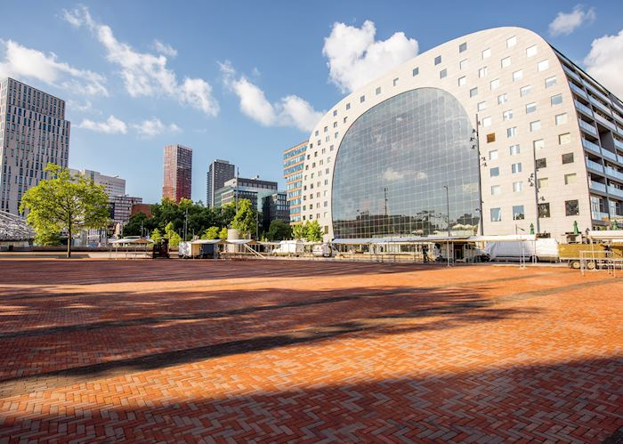 The Markthal in Rotterdam