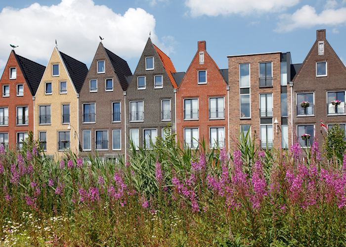 Painted houses in Amersfoort