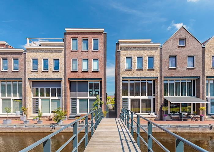 Contemporary buildings in Amersfoort