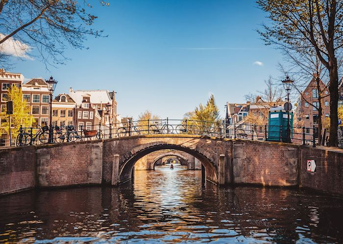 Canal bridges in Amsterdam