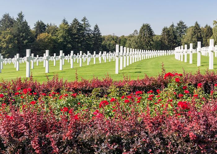 WWII cemetery, Luxembourg