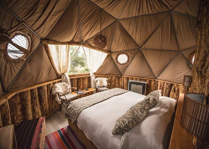 Superior dome, Eco Camp Patagonia