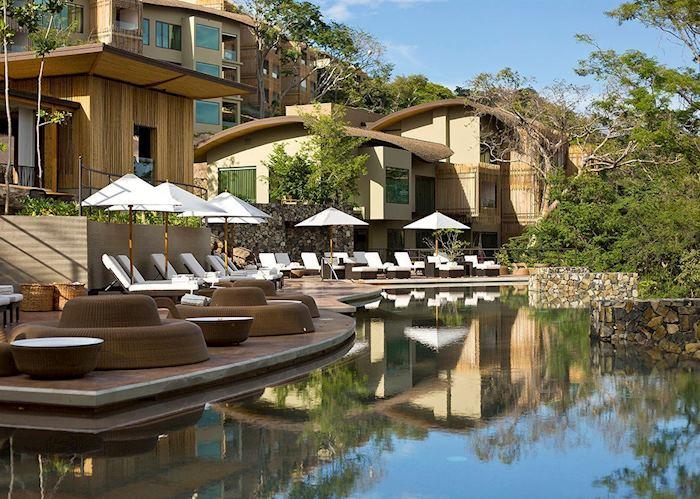 The pool at the Andaz Peninsula Papagayo Resort
