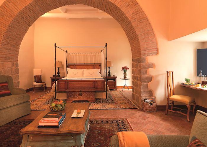 Colonial arch suite, Belmond Palacio Nazarenas, Cuzco