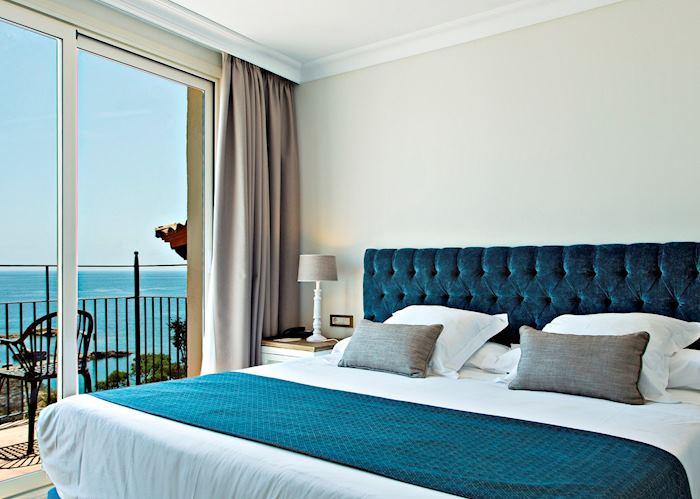 Double room with sea view, Hotel Aigua Blava