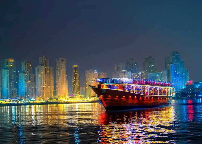 Dhow Dinner Cruise, Dubai