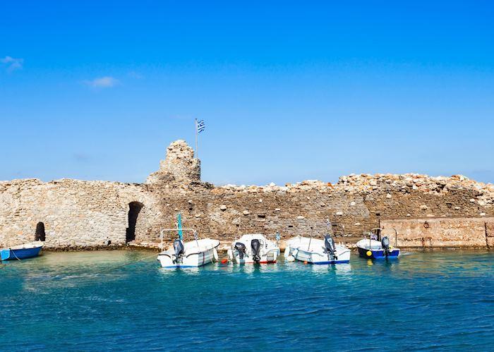 Venetian fortress in Naousa, Paros