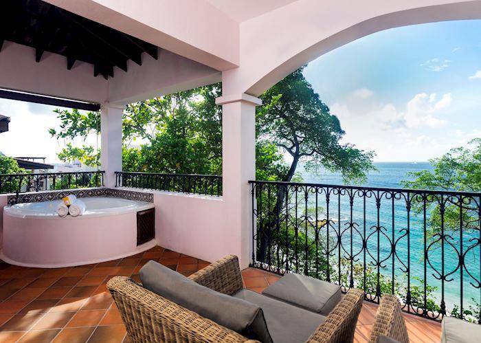 Ocean View Villa Suite with Jacuzzi , Cap Maison, Rodney Bay