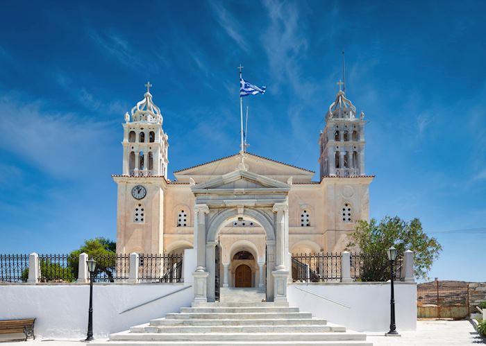 Agia Triada Monastery, Lefkes, Paros