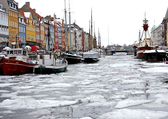 Nyhavn during winter