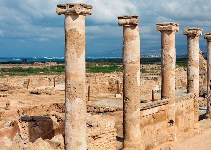 Paphos Archaeological Park, Cyprus