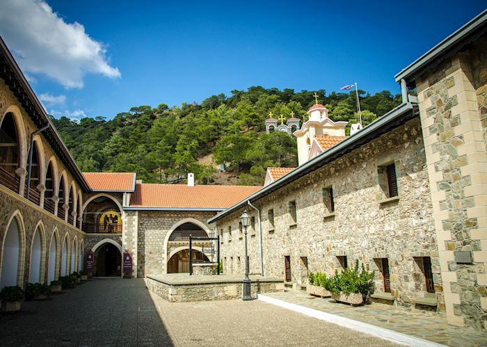 Monastery, Troodos Mountains