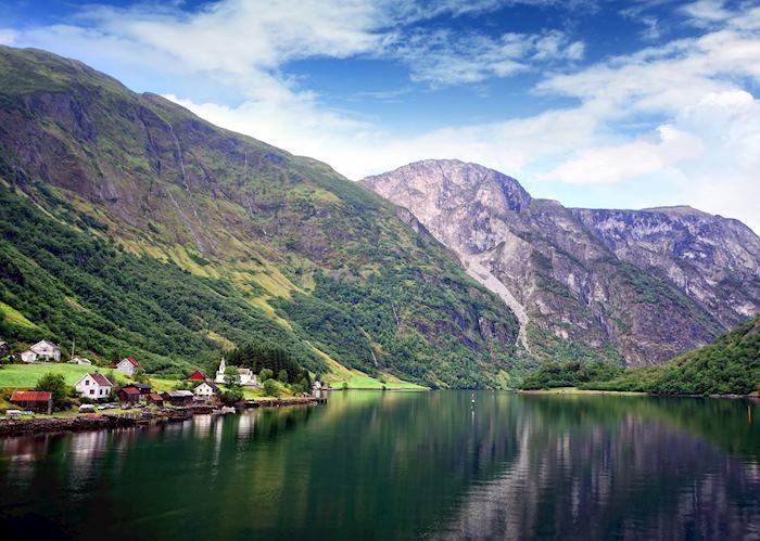 Village in Nærøyfjord